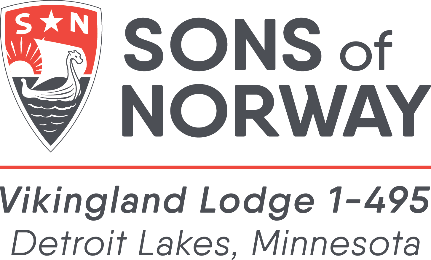 Sons of Norway - Vikingland Lodge 1-495 Logo